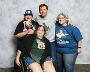 My photo with David Tennant by The-Angelic-one