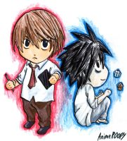 Chibi Deathnote by AnimePOOPY