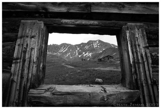 Window To The Past by Nate-Zeman