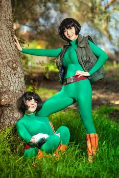 ROCK LEE AND GAI SENSEI by Mostflogged