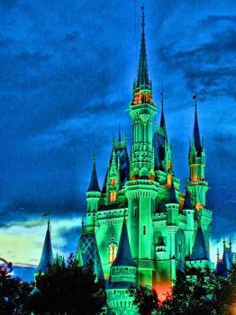 Cinderella HDR Castle by DonDiegoVega