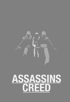 Assassins Creed Minimal Poster by Blind-Pixel777