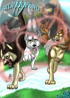 Silver Fang cover I. by BlackCat-Bia