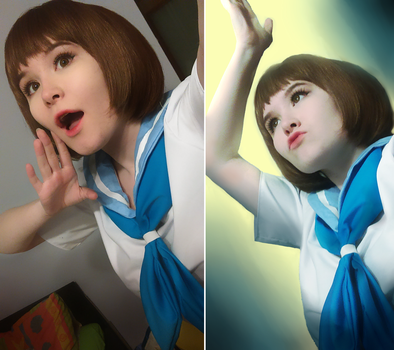 Mankanshoku Mako! by joannawentbananas