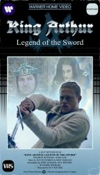 King Arthur VHS Cover by Kittensoft