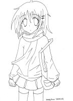 Winter's Day Lineart by strawberry-queen1