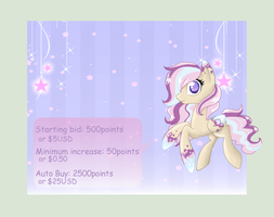 Pony adopt: Auction ( 2 )  [ CLOSED] by StarDust-Adoptables