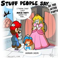 Stuff people say 141 by FlintofMother3