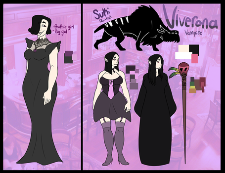 Character sheet: Viverona Arks by PUPPYPOWER123