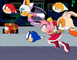 Sonic the hedgehog swap swaps by TheWalrusclown
