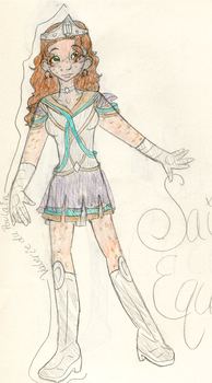 Sailor Equuleus by the-dragon-childe