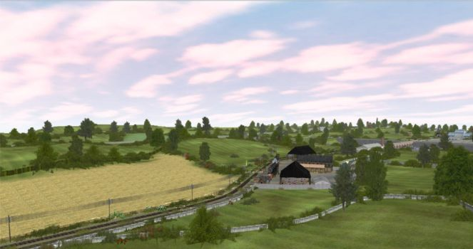 Countryside Scene by AtheMighty
