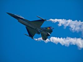 F16 Duxford Air Display by davepphotographer