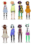 More Masked Adopts (closed ty) by PrinceAcidKitten