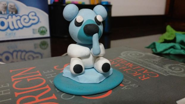 A wild clay Cubchoo appeared! by Javi-Here