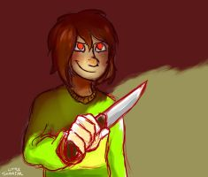 Chara by LittleSnaketail