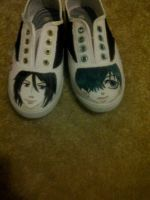 Black butler shoes by StarClipse