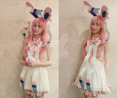 Sylveon Cosplay by Rinotou
