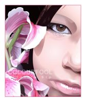 Girl Flower by Colourfool