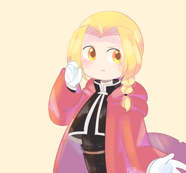 Edward Elric by Puppiii