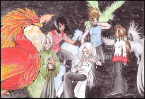 .TORIKAGE : BIRDCAGE. by silversister