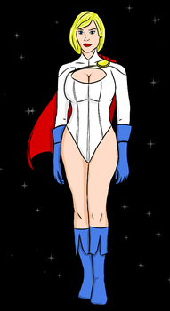 Power Girl by NoahConners