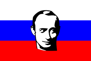 Putin Flag by zscout370