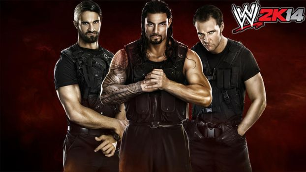 WWE 2K14 The shield Wallpaper by jithinjohny