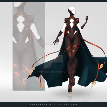 (CLOSED) Adoptable Outfit Auction 258 by JawitReen