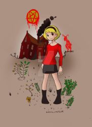 Chilling adventure of Sabrina by loigiu