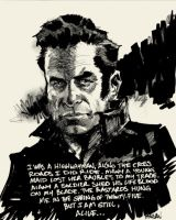 Highwayman -Johnny Cash by urban-barbarian