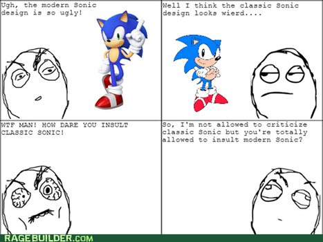 The Classic Sonic Fantard in a Nutshell 2... by classicsonicawesome