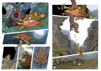 Comic Sample  The Toad and the Snake 2 by JFRteam