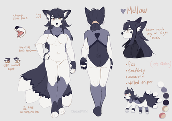 Mellow Ref by DragonsPurr