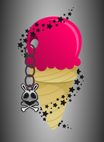 Bunny Ice Cream by wildgica