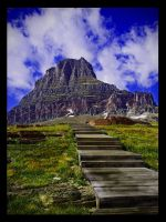 A Path, built to the sky by Ian4444