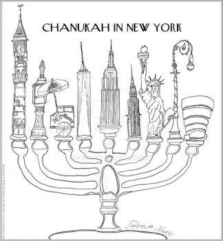 Chanukah in New York by steeber