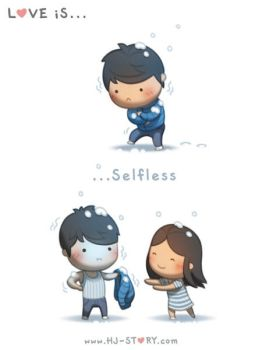 10. Love is... Selfless by hjstory