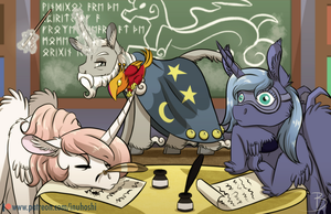 Study Time by InuHoshi-to-DarkPen
