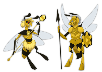 Lordrone and Chivalree by IndigoBlackbird