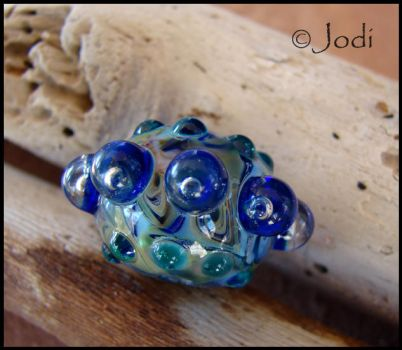 Sea Urchin - Lampwork Glass Bead by andromeda