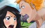 Bleach Ichigo x Rukia Ending Manga Colors by Amanomoon