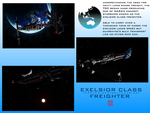 Exelsior Class Freighter by Gwentari