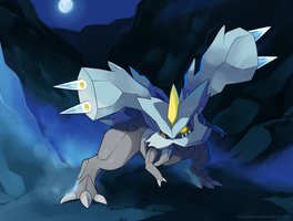 646 - Kyurem, The Boundary dragon by nganlamsong