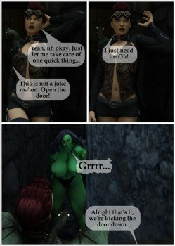 The Orc Princess Page 15 by AdiabaticCombustion