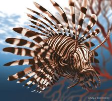 Lionfish by mskyDOTtv