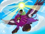 Flying High by chriscrazyhouse
