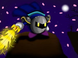 Meta Knight by TheElementChronicler