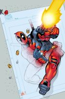 Deadpool comes alive by ColorDojo