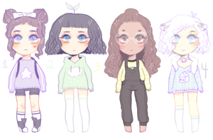 (closed) some cheap adopts! by peachie-adopts